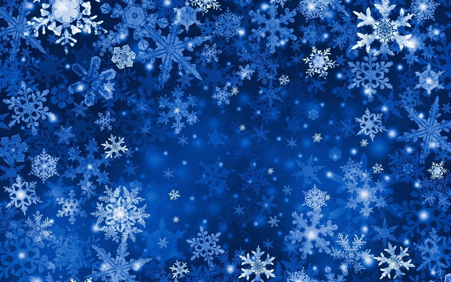рождество, новый год, снег, снежинки, голубой, синий, текстура