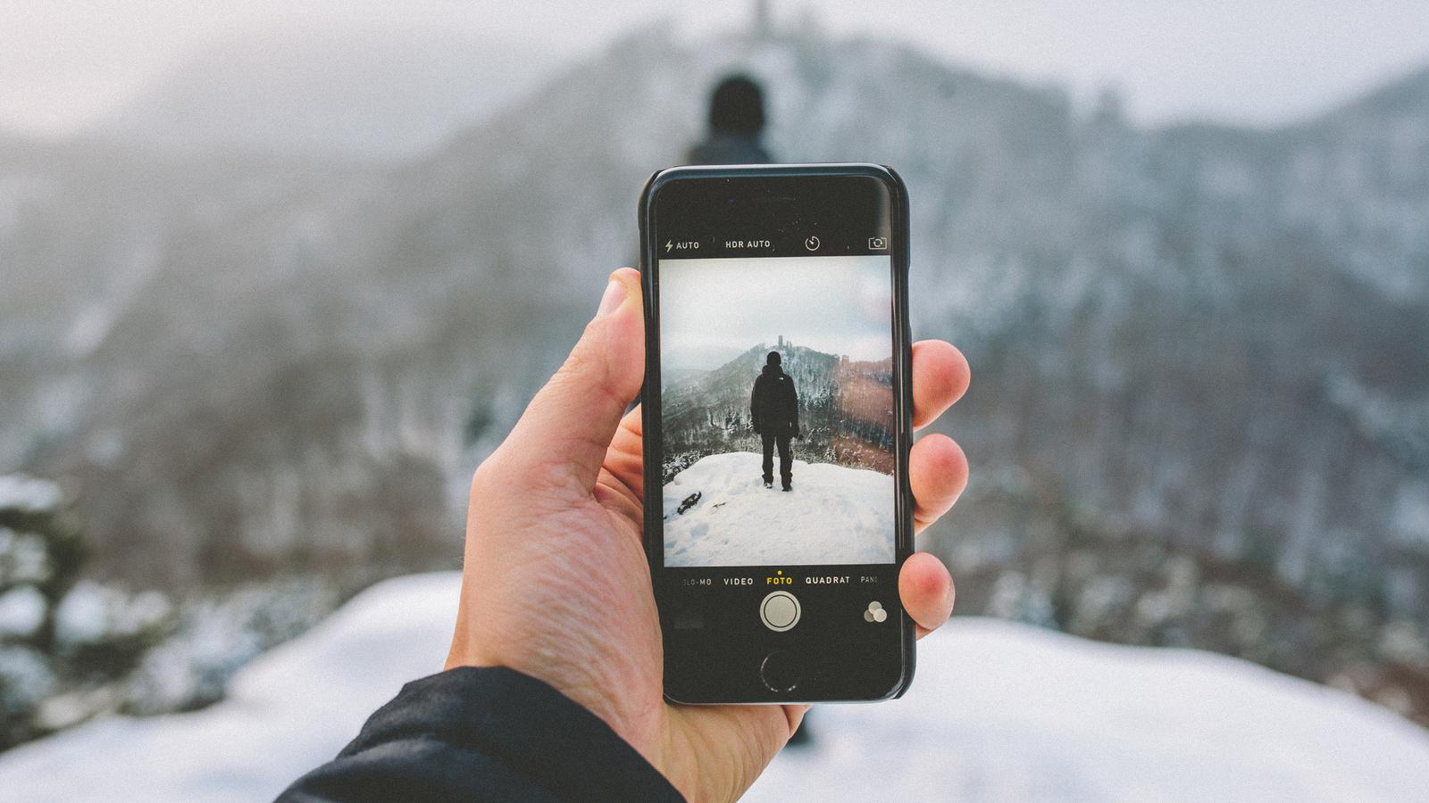 фото, айфон, зима, природа