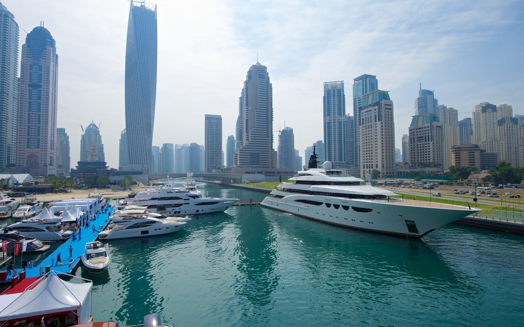 city, building, skyline, город, яхта
