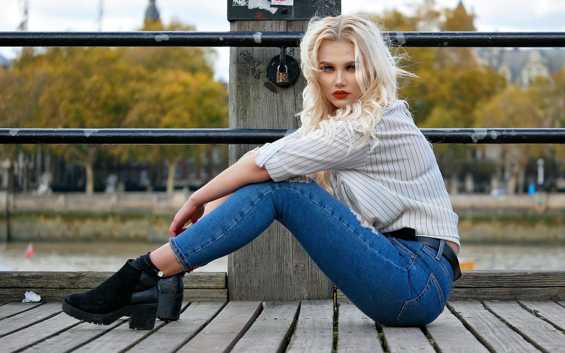 создали смотреть фото блондинок в джинсах этом