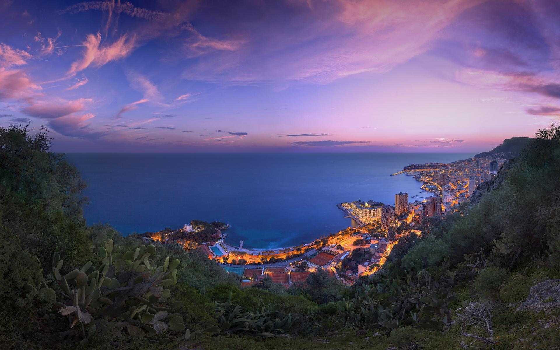 лигурийское море, лазурный берег, монако