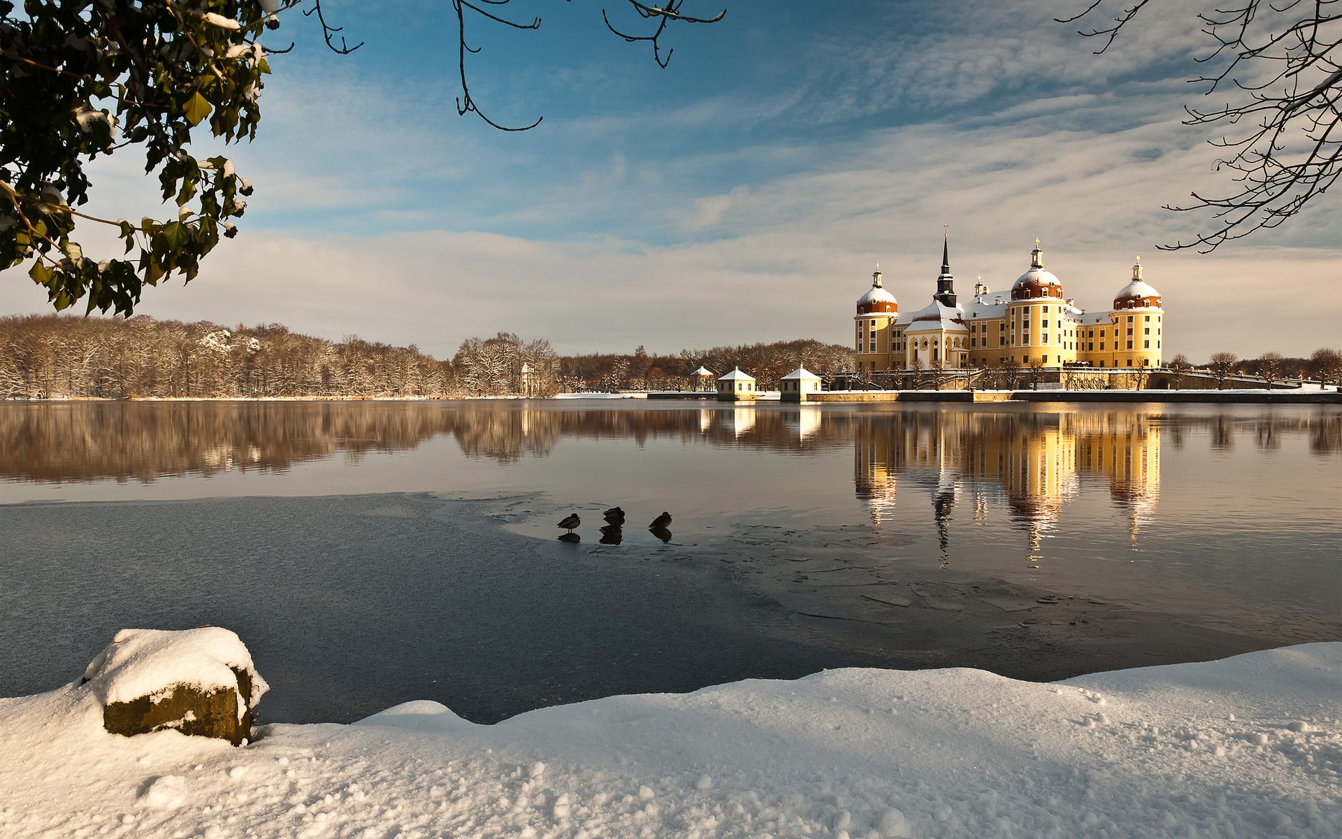 замок, морицбург, германия