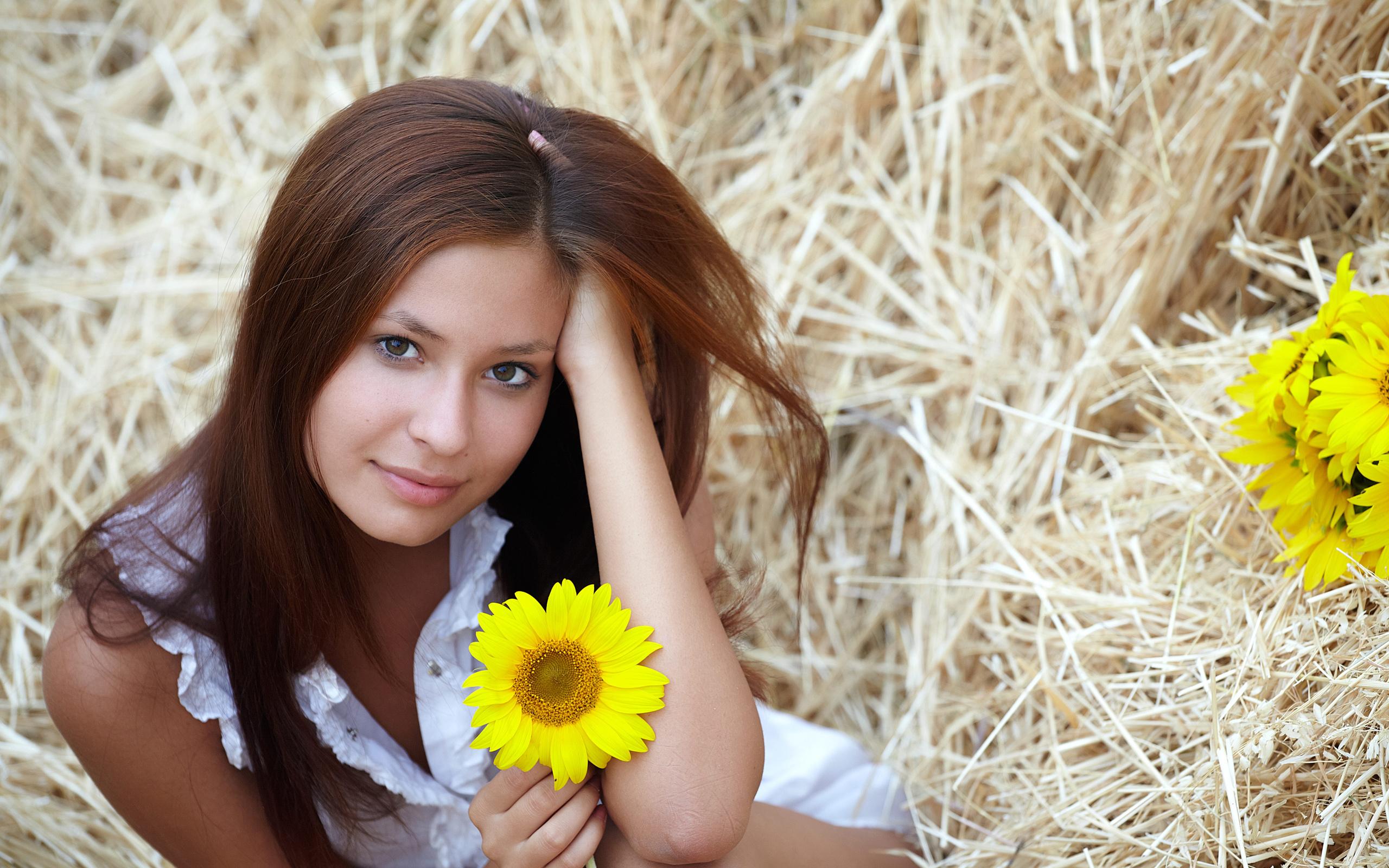Дорогому, картинки девушка с цветком