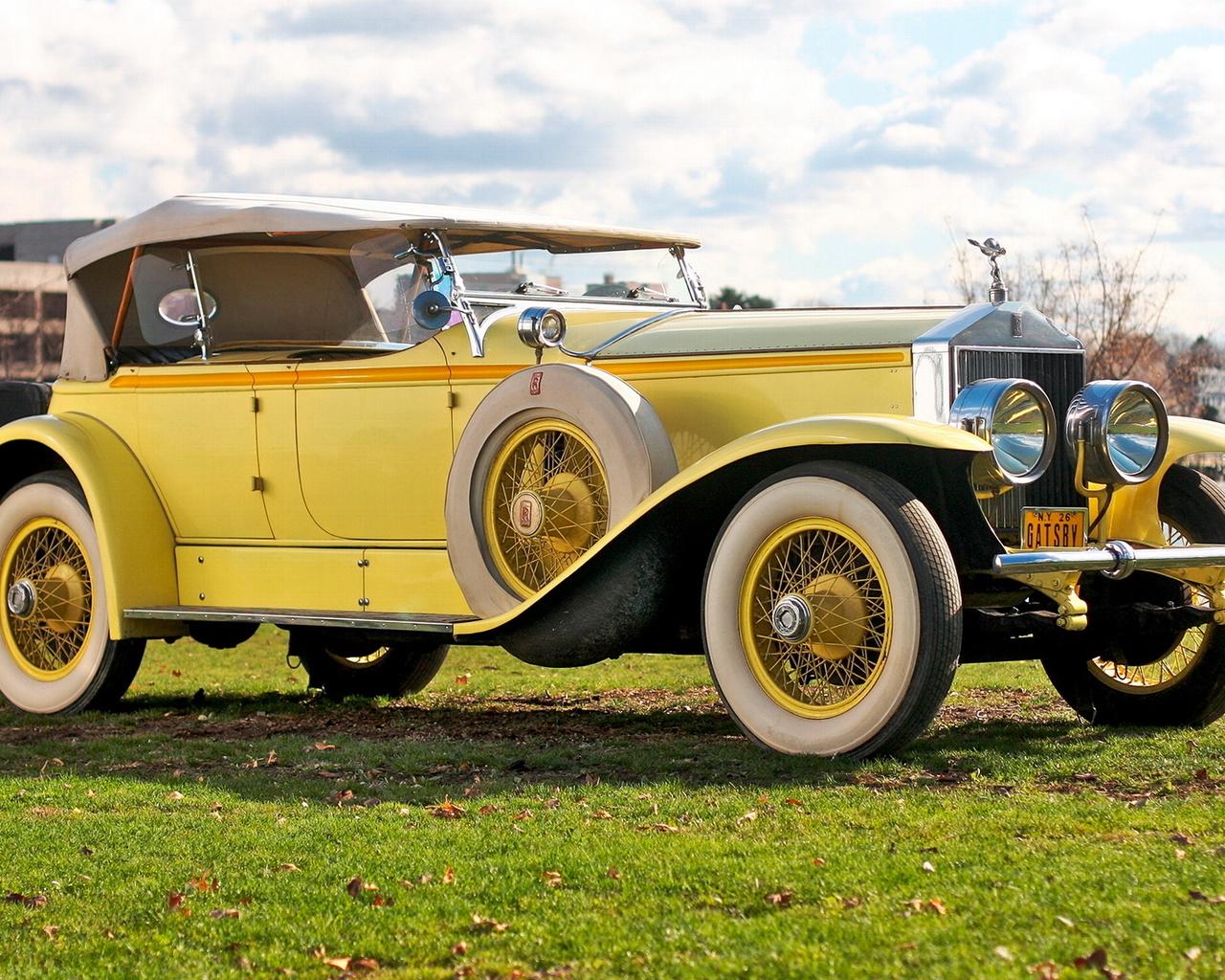 rolls-royce, phantom, ascot, 1929
