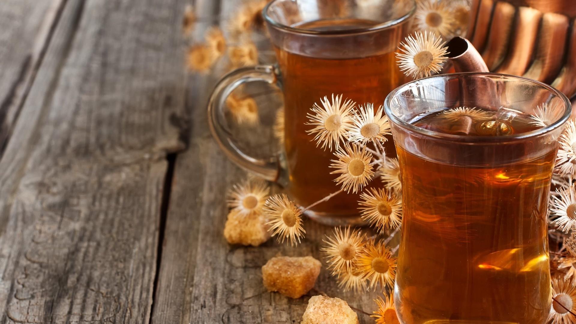 Картинки осень чай
