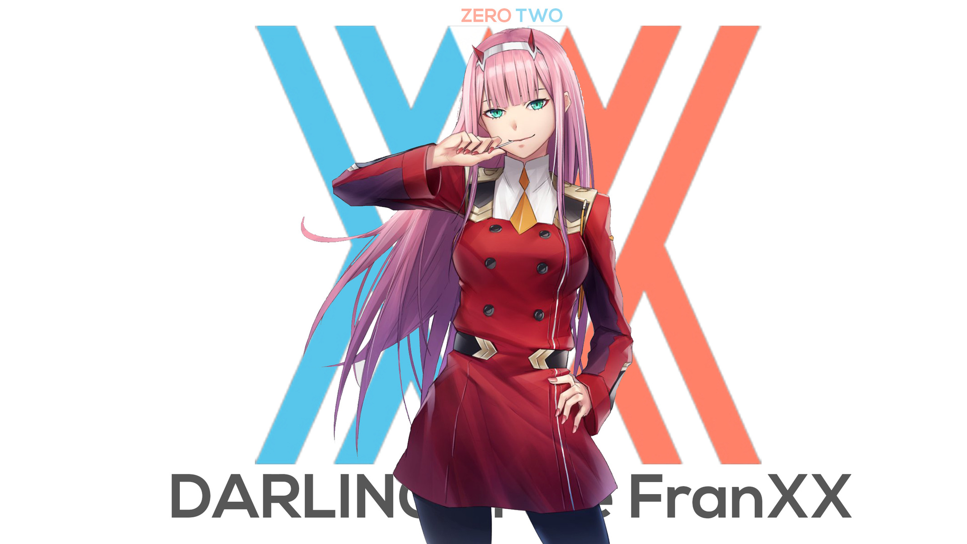 002, zero two, darling in the franxx