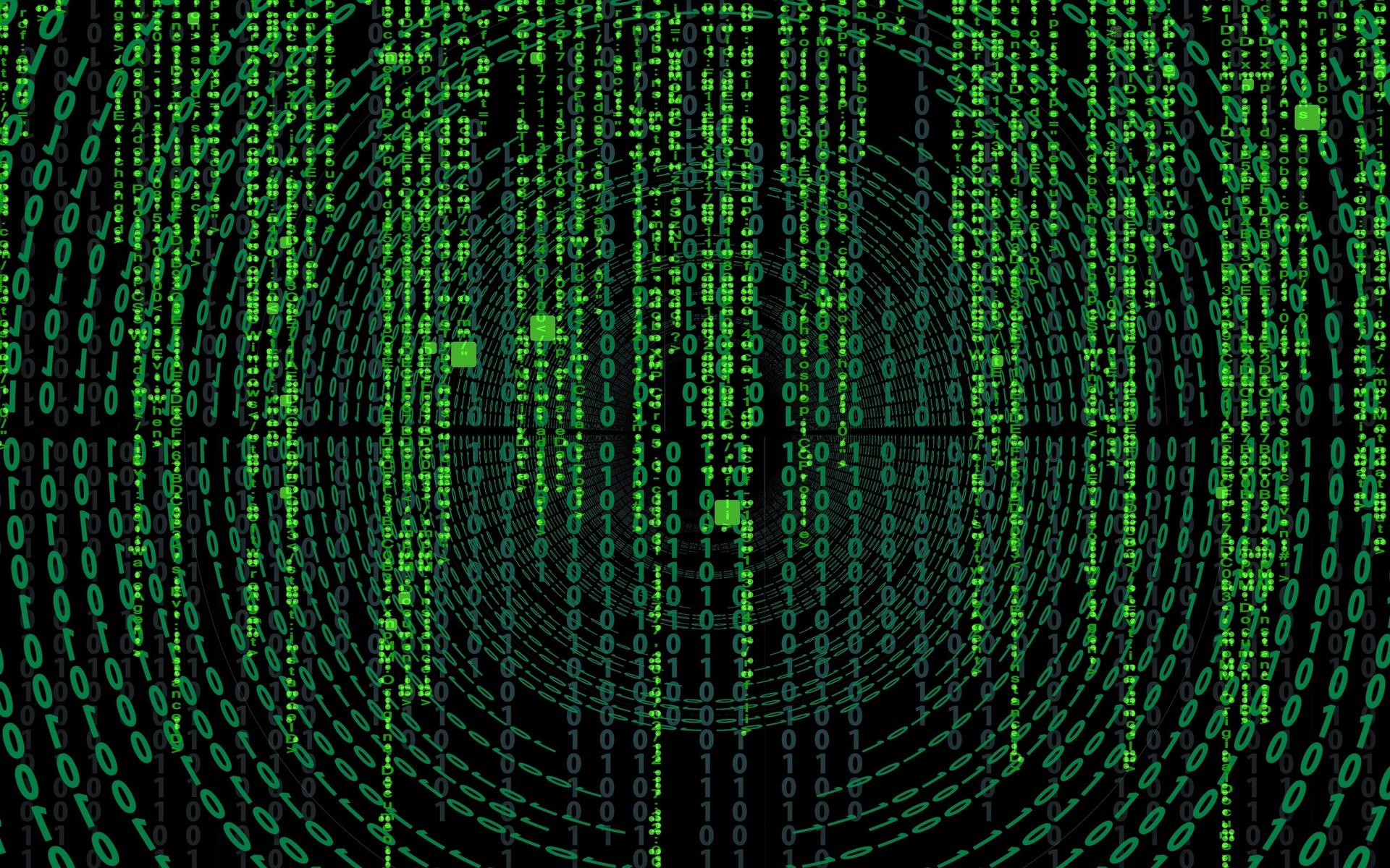 matrix, цифры