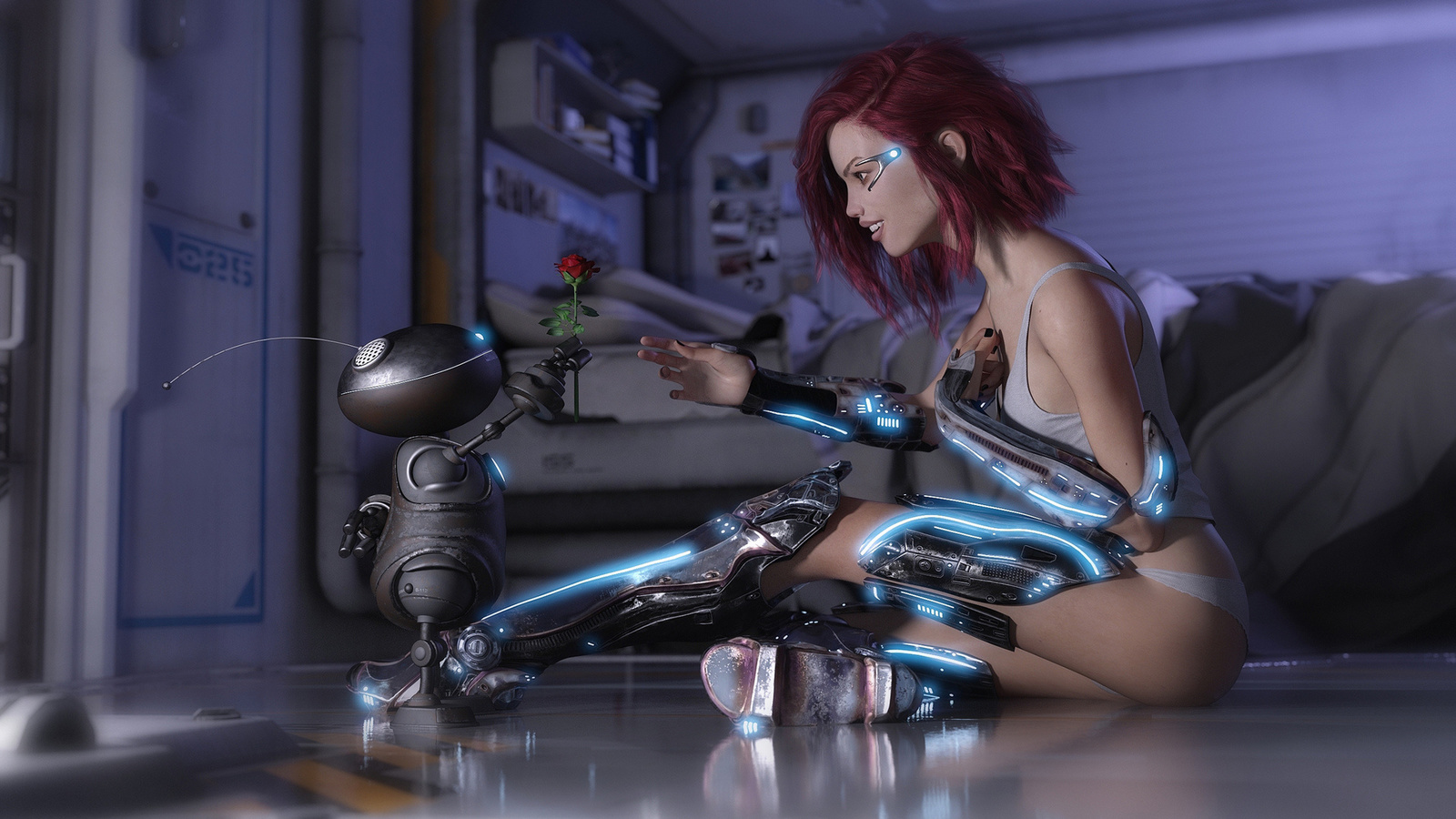 живые обои для андроид с девушками для fly509