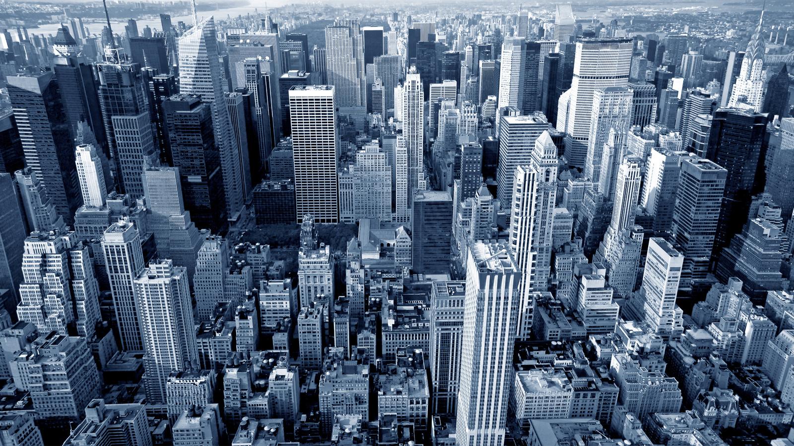 дома, небоскребы, нью-йорк, манхэттен, мегаполис, город, new york