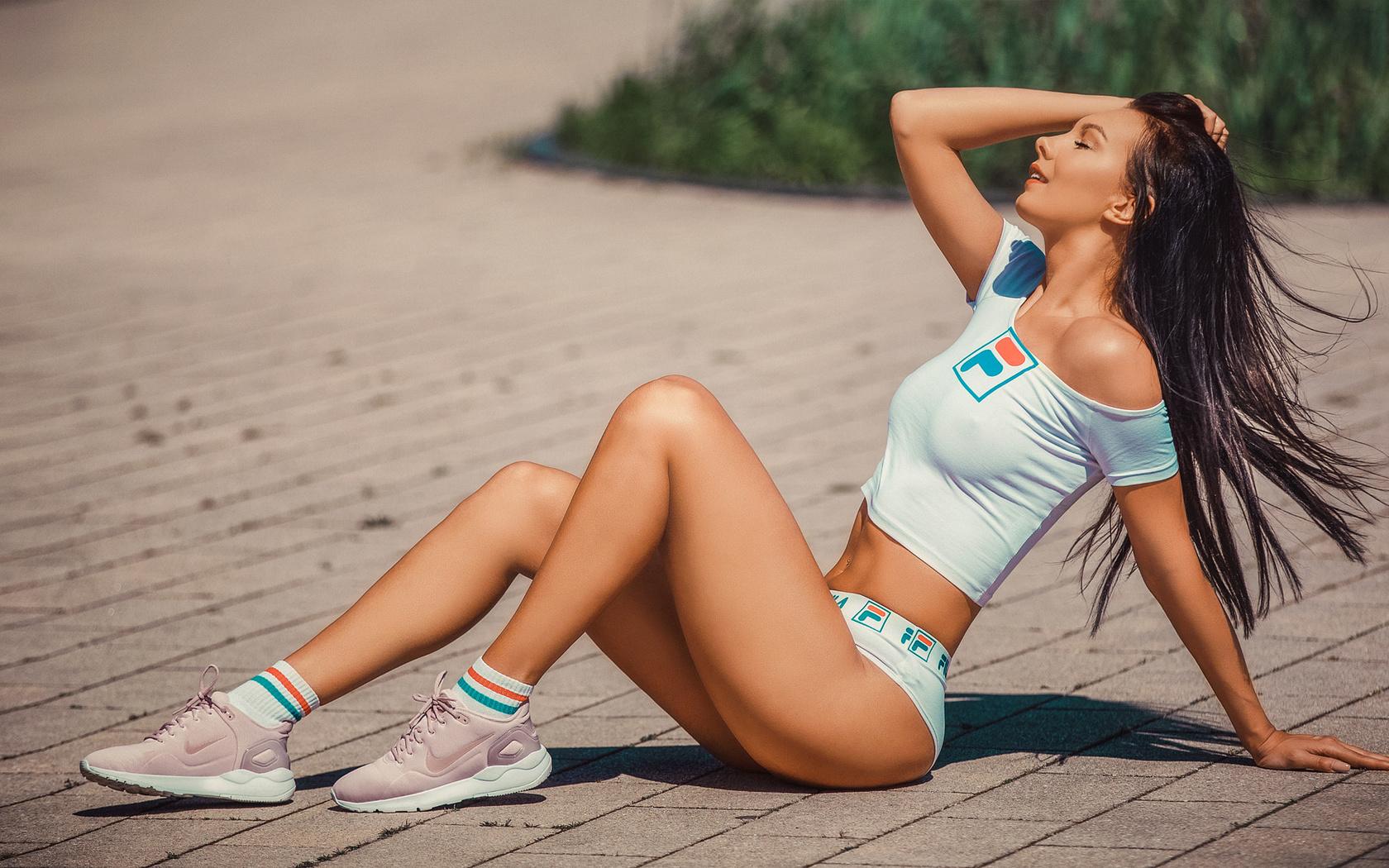 Фото спортивных девочек ножки, Девушки с невероятно красивыми и спортивными 1 фотография