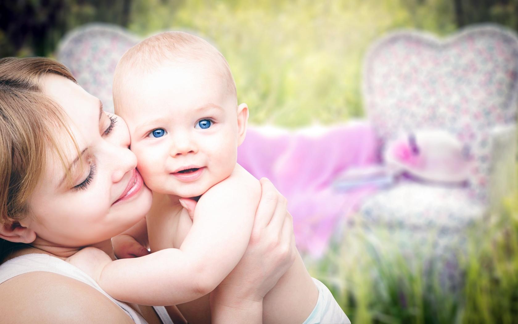 люди, женщина, мать, мама, ребёнок, малыш, счастье, любовь
