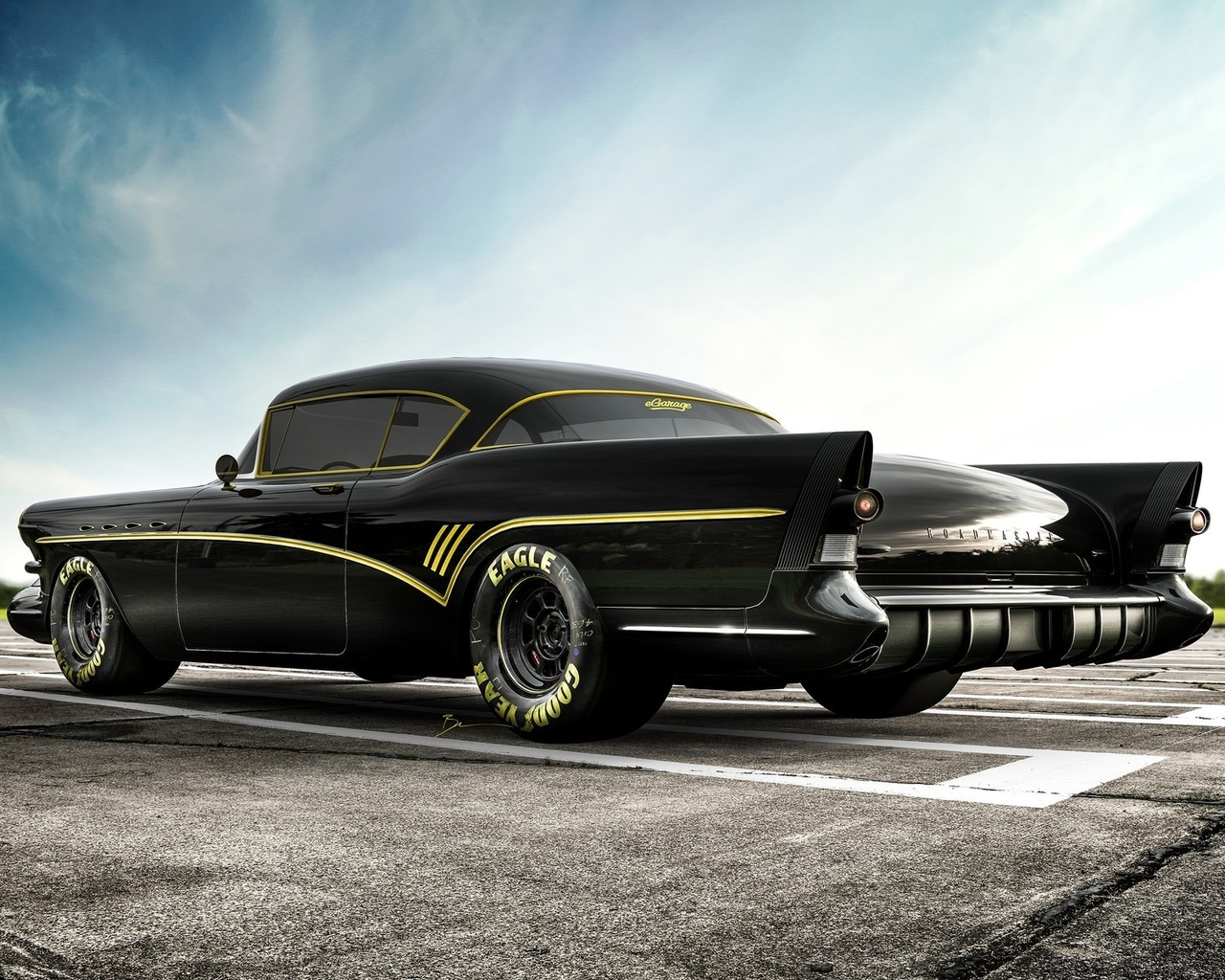 buick, roadmaster, tuning, retro