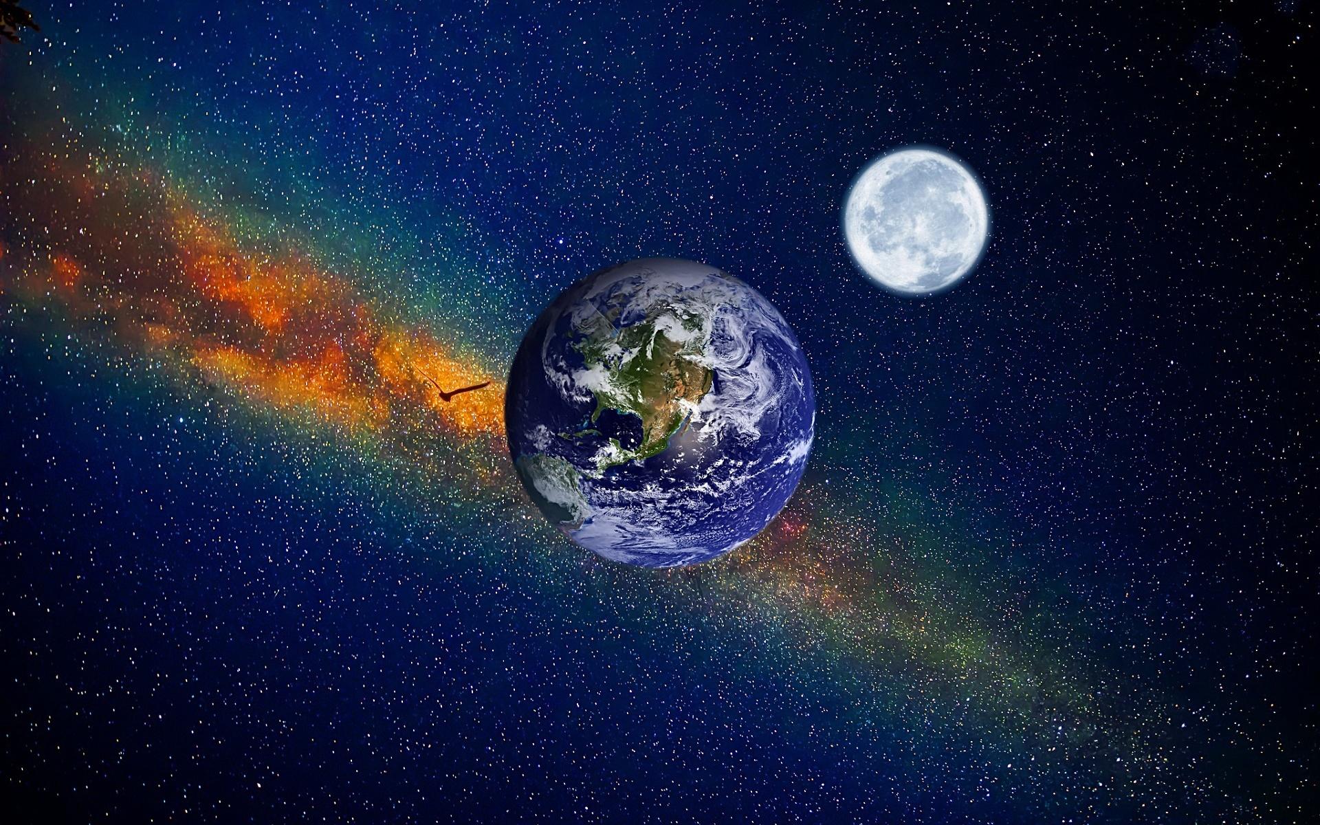 Картинки с космоса планету земля