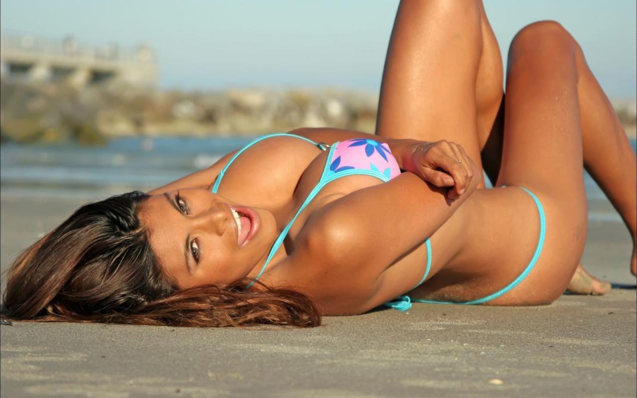 девушка, красотка, бикини, пляж, лето, океан, модель, соло, posing, girl, girls, love, beautiful, fashion, style