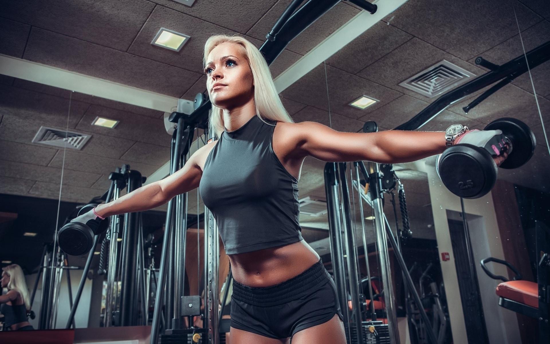 видео девушки и спорт лицо