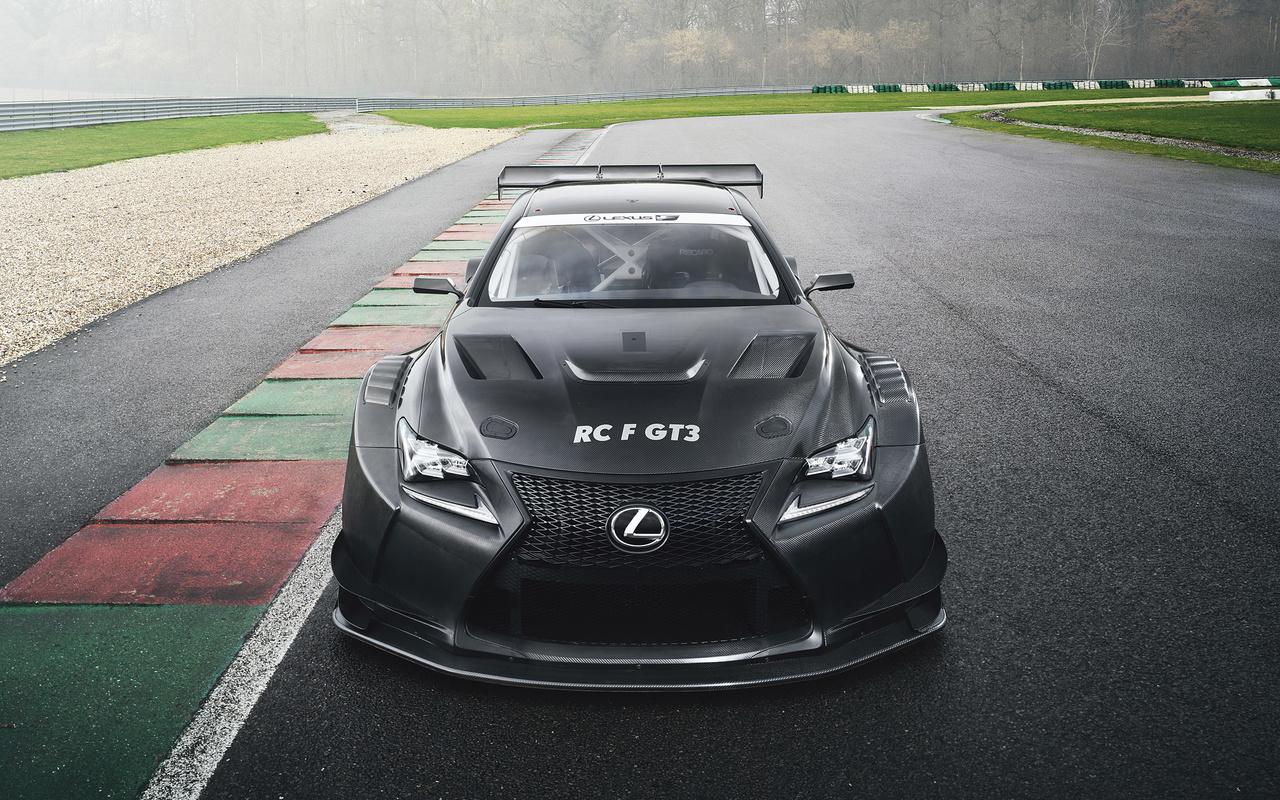lexus, rc f, gt3, racing car, tuning, carbon
