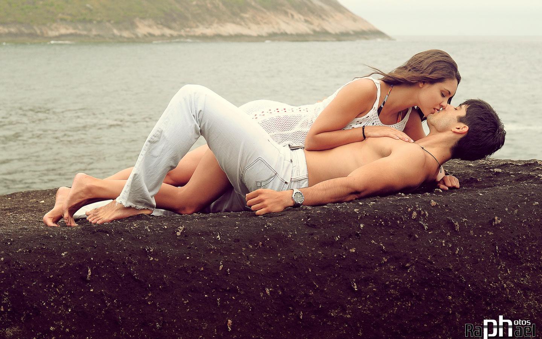 парень, девушка, природа, любовь