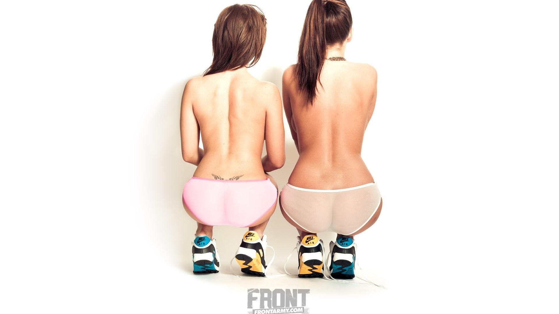 трусики, babes, модель, ass, позирует, попа, ножки, фигура
