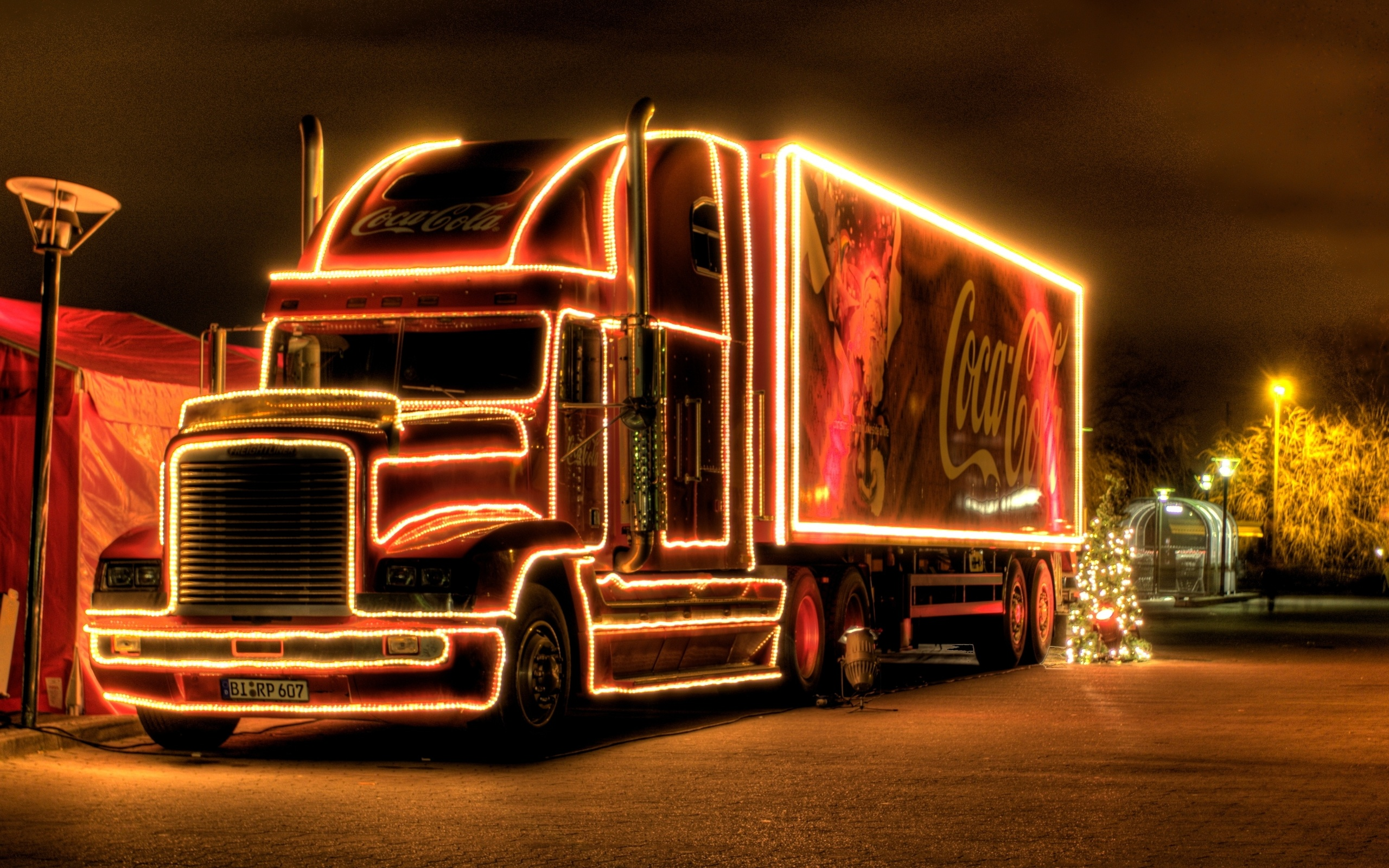 Открытка грузовик