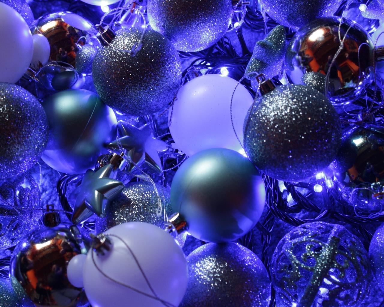 шары, украшения, новый год