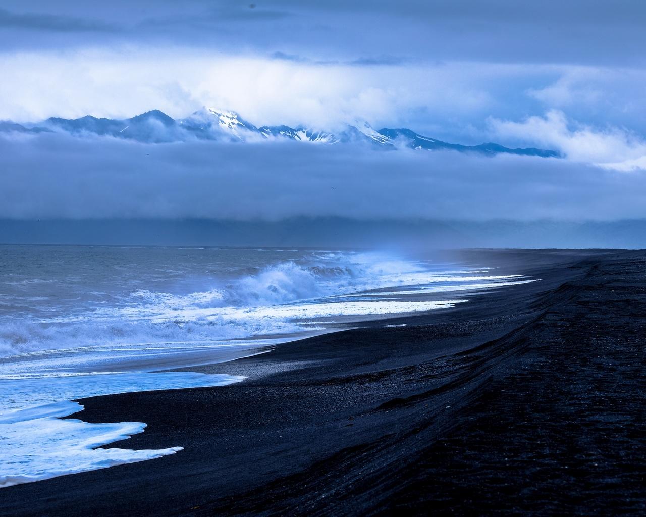 sea, ocean, waves, beach