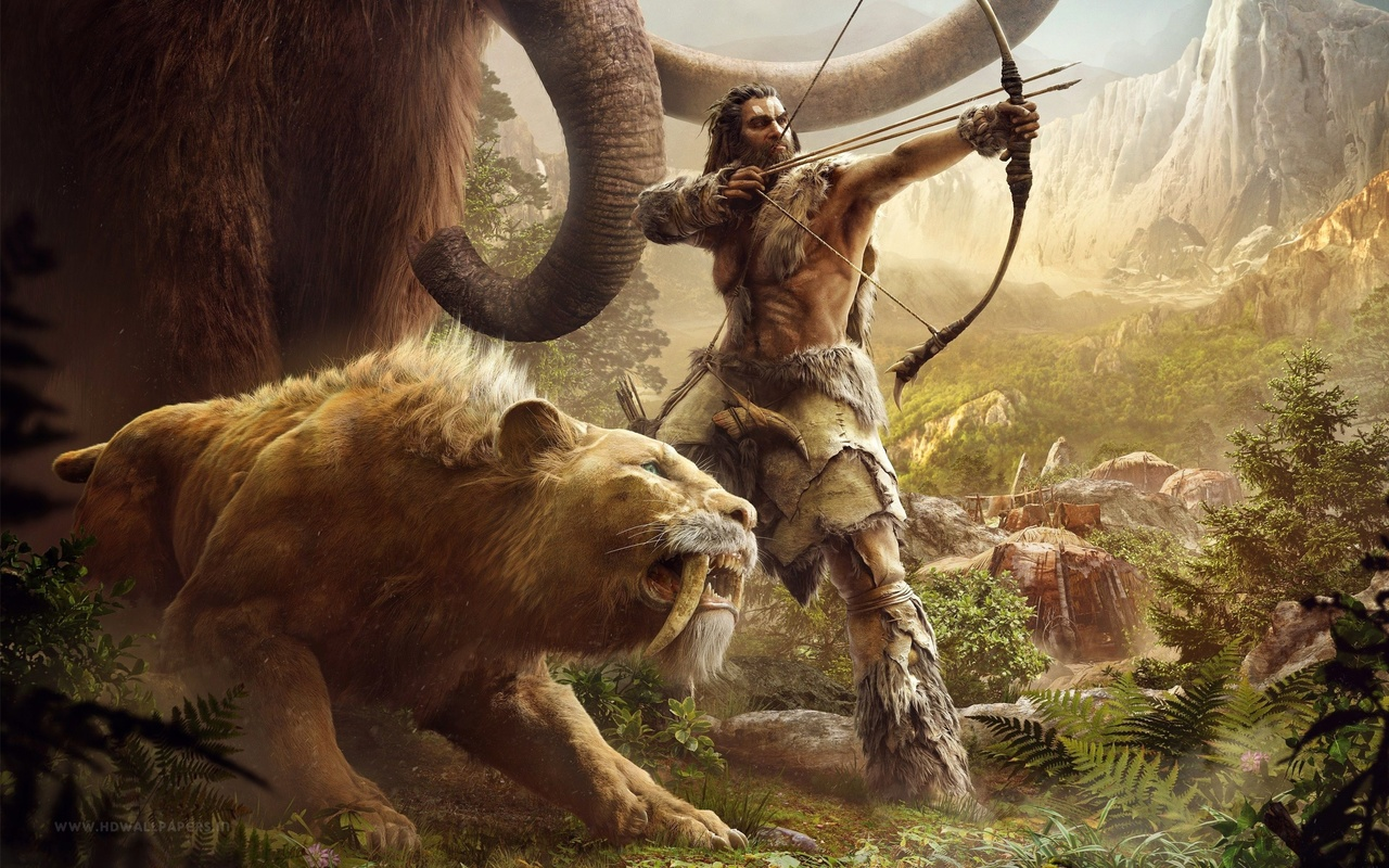 far cry primal, artwork, video games
