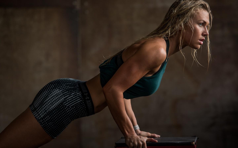 девушка, модель, спорт, фитнес