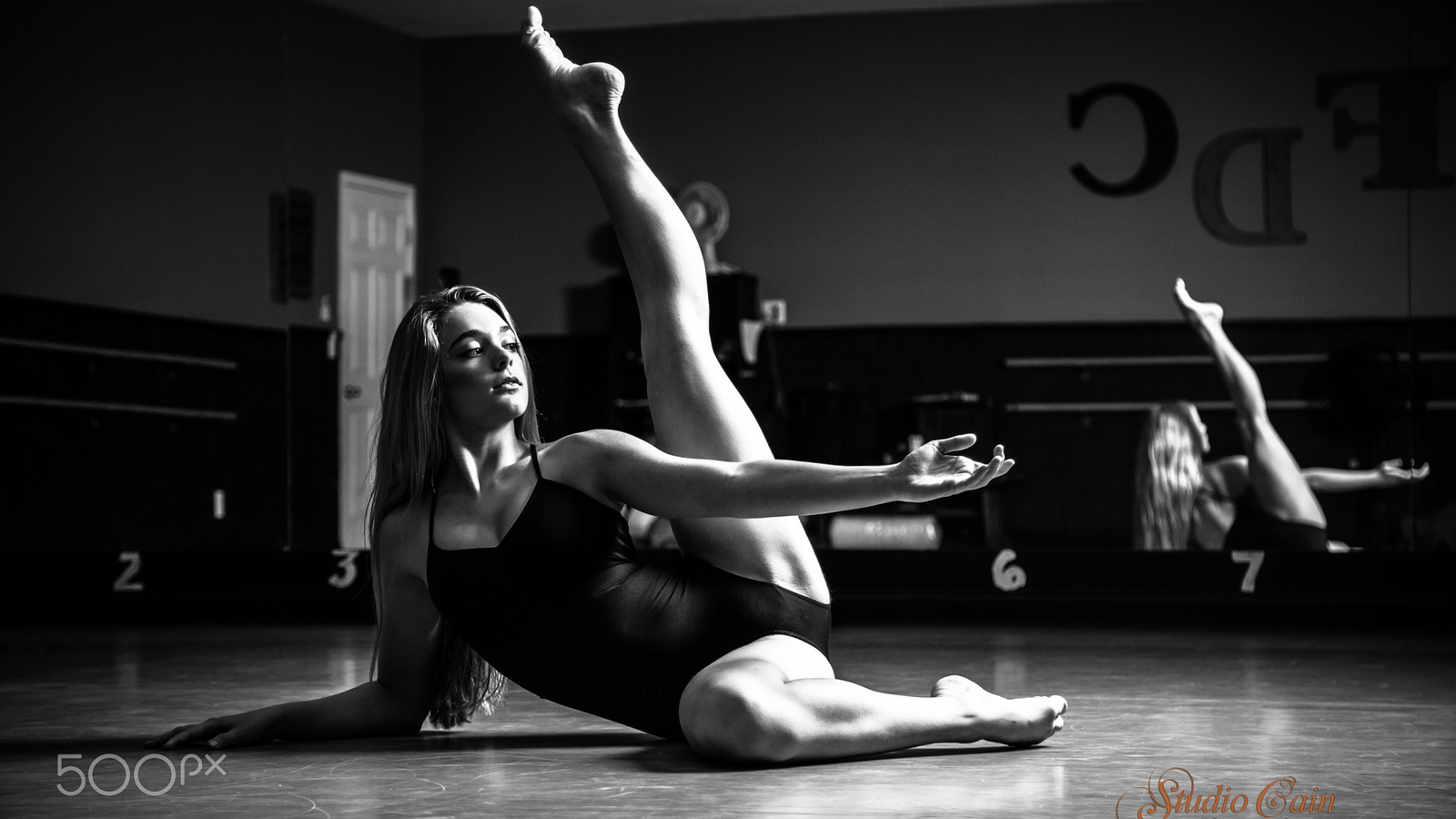 dancer, monochrome, jeff cain