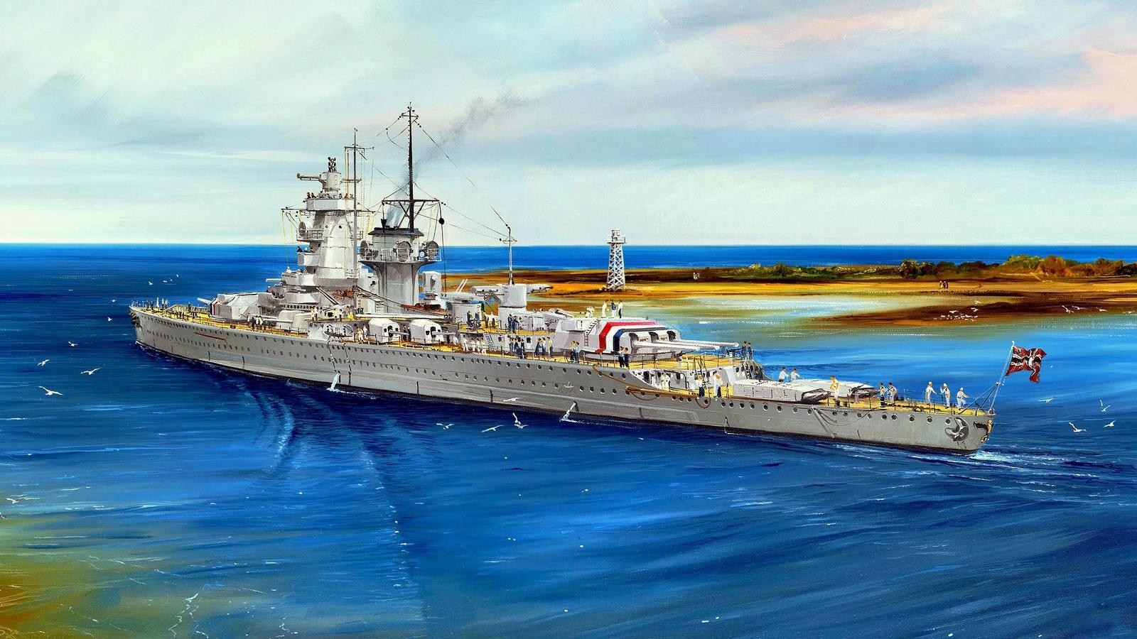 море, адмирал граф шпее, война