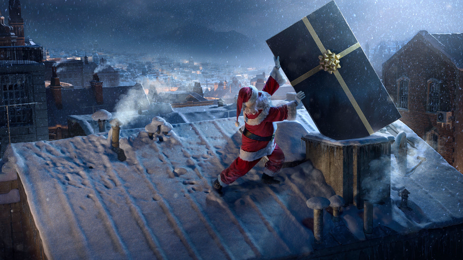 дед мороз, подарок, доставка, креатив