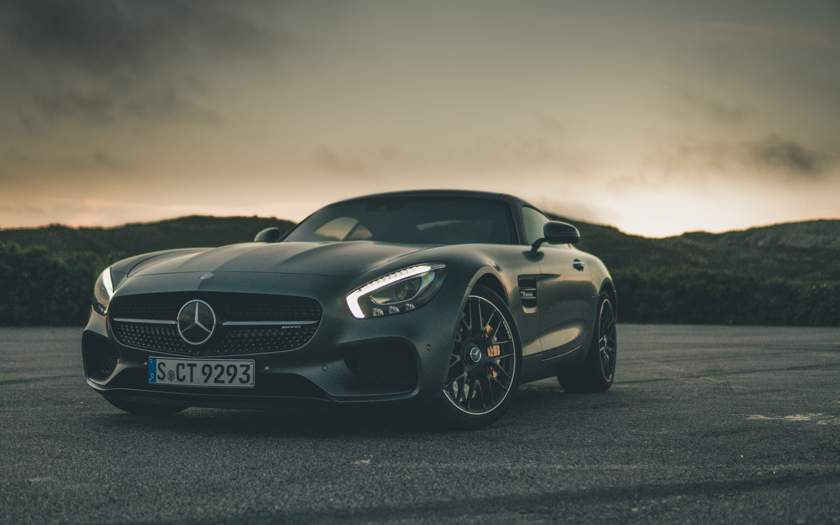 black, mercedes benz, amg, gt