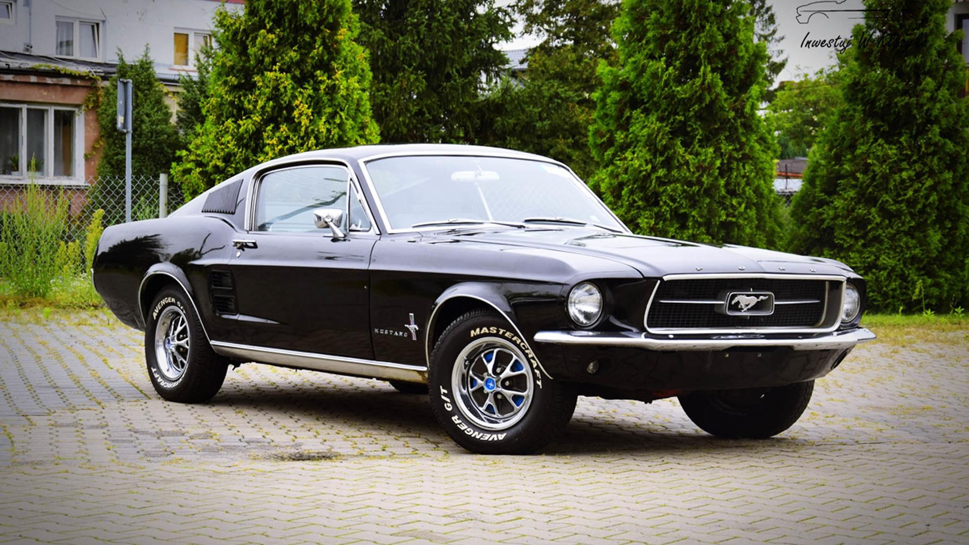 форд, мустанг, 1967
