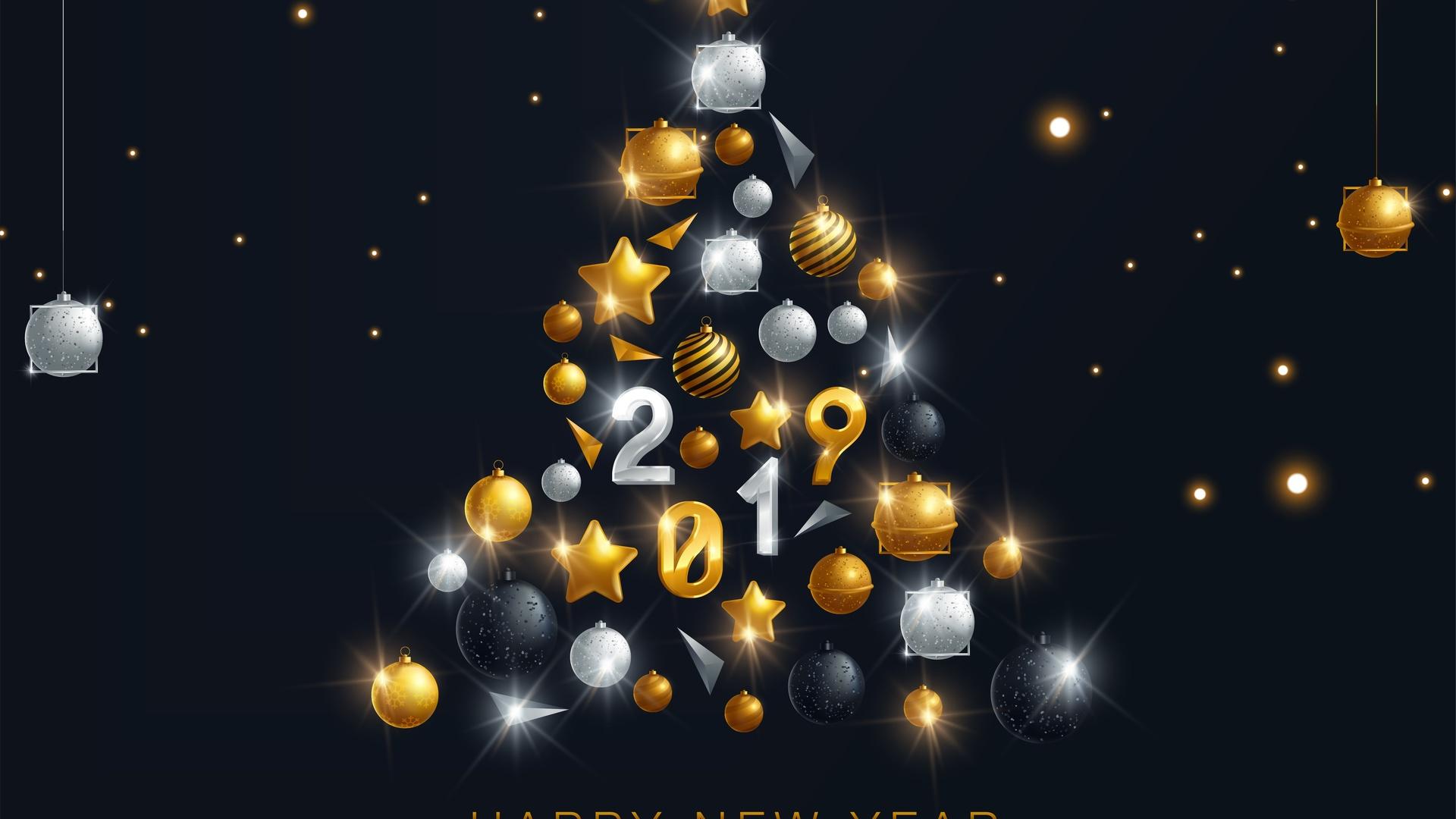 Для поздравления, лучшие картинки к новому году 2019
