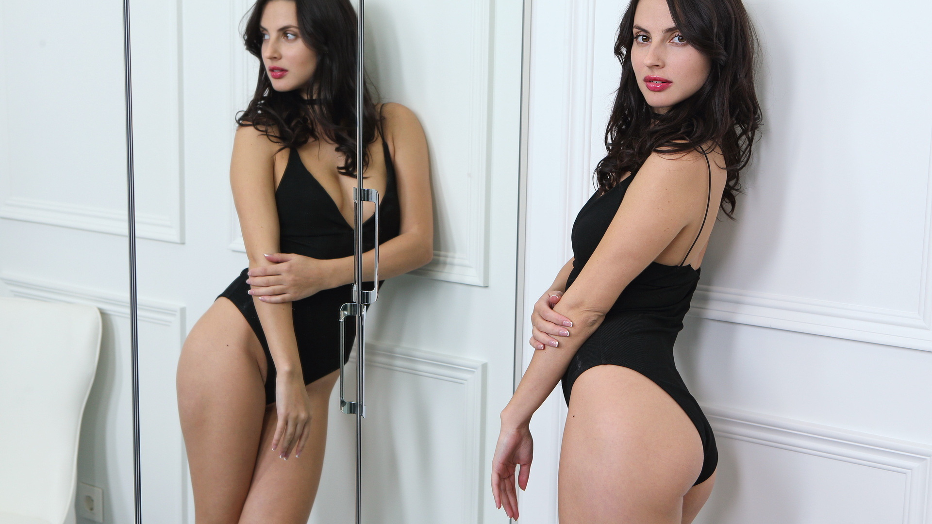 chica, belleza, modelo, pose, sexy.cuerpo, jasmine jazz