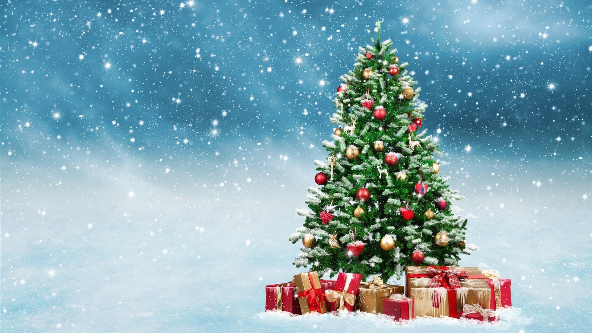 navidad, arbol, fiestas