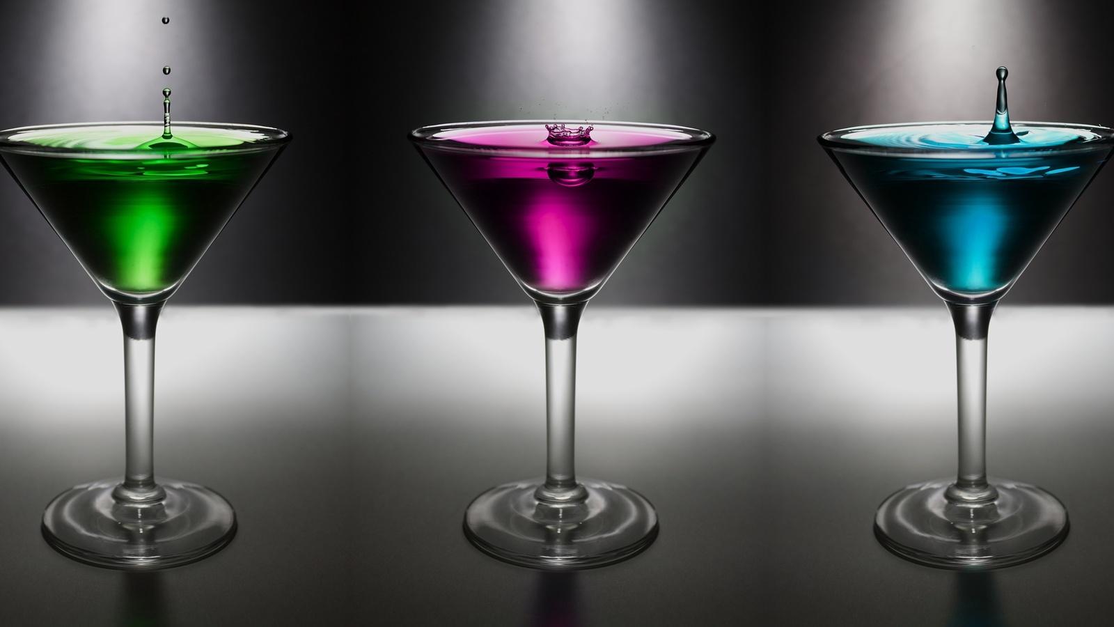 трио, коктейль