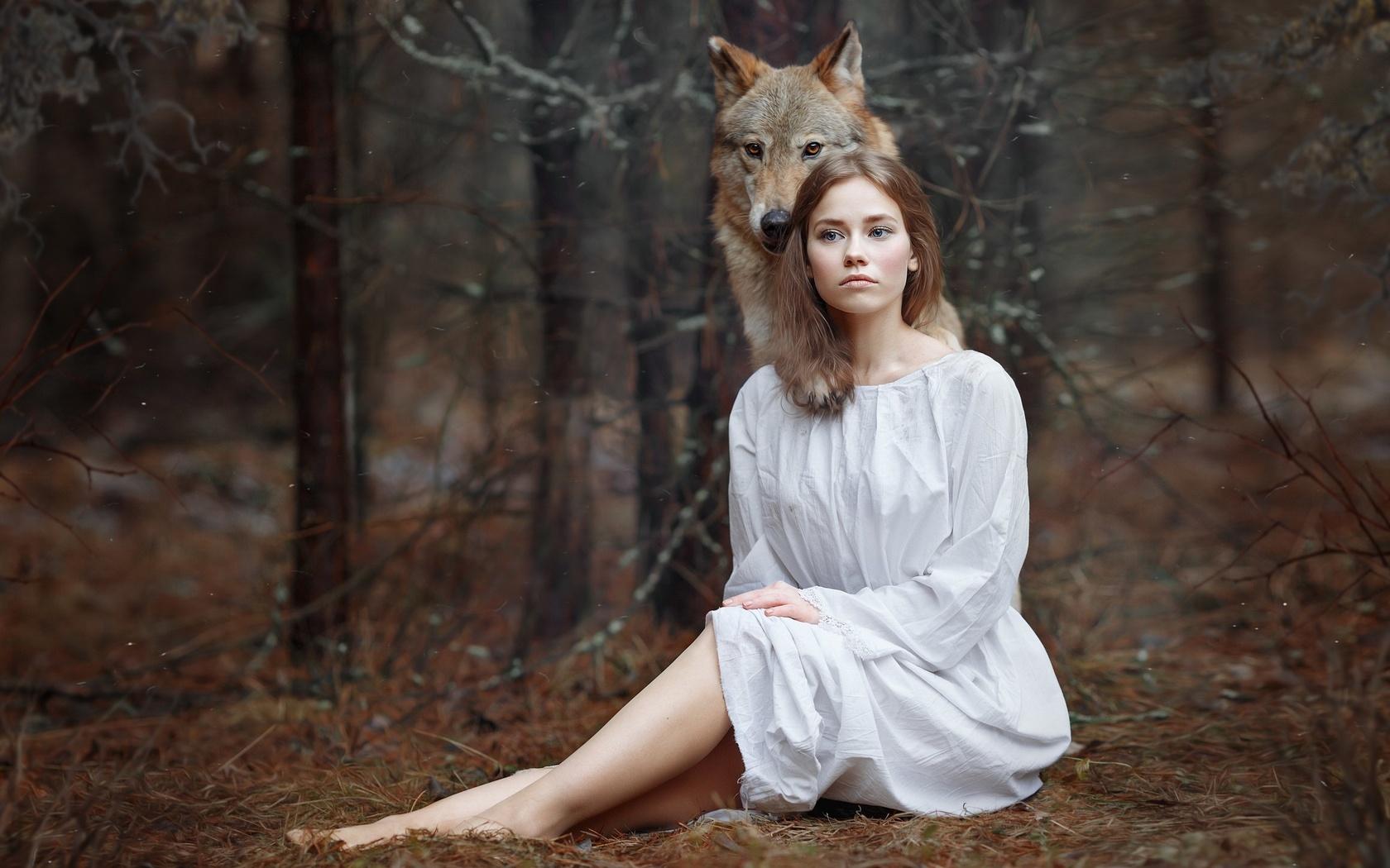 девушка, в лесу, фото, светлана никотина