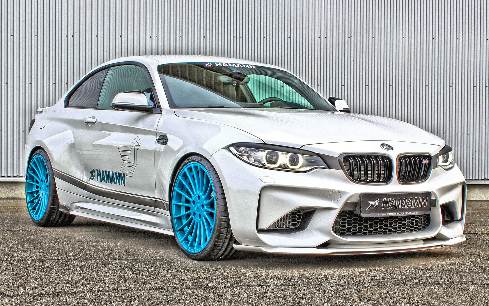 bmw, m2, hamann, white, sports coupe