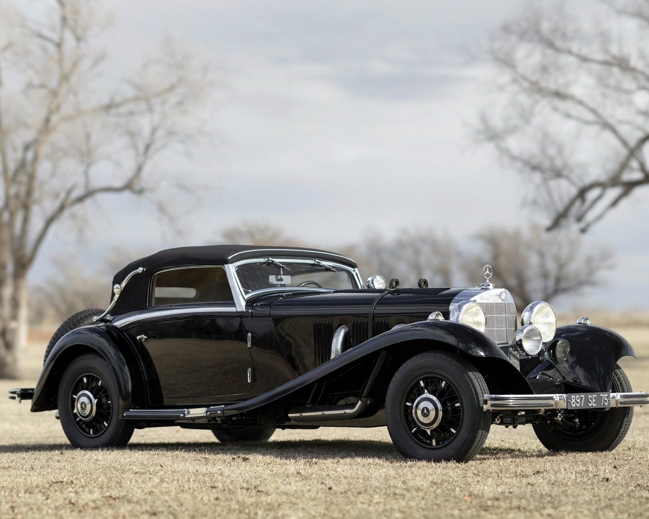 мерседес, 540к, 1939, ретро
