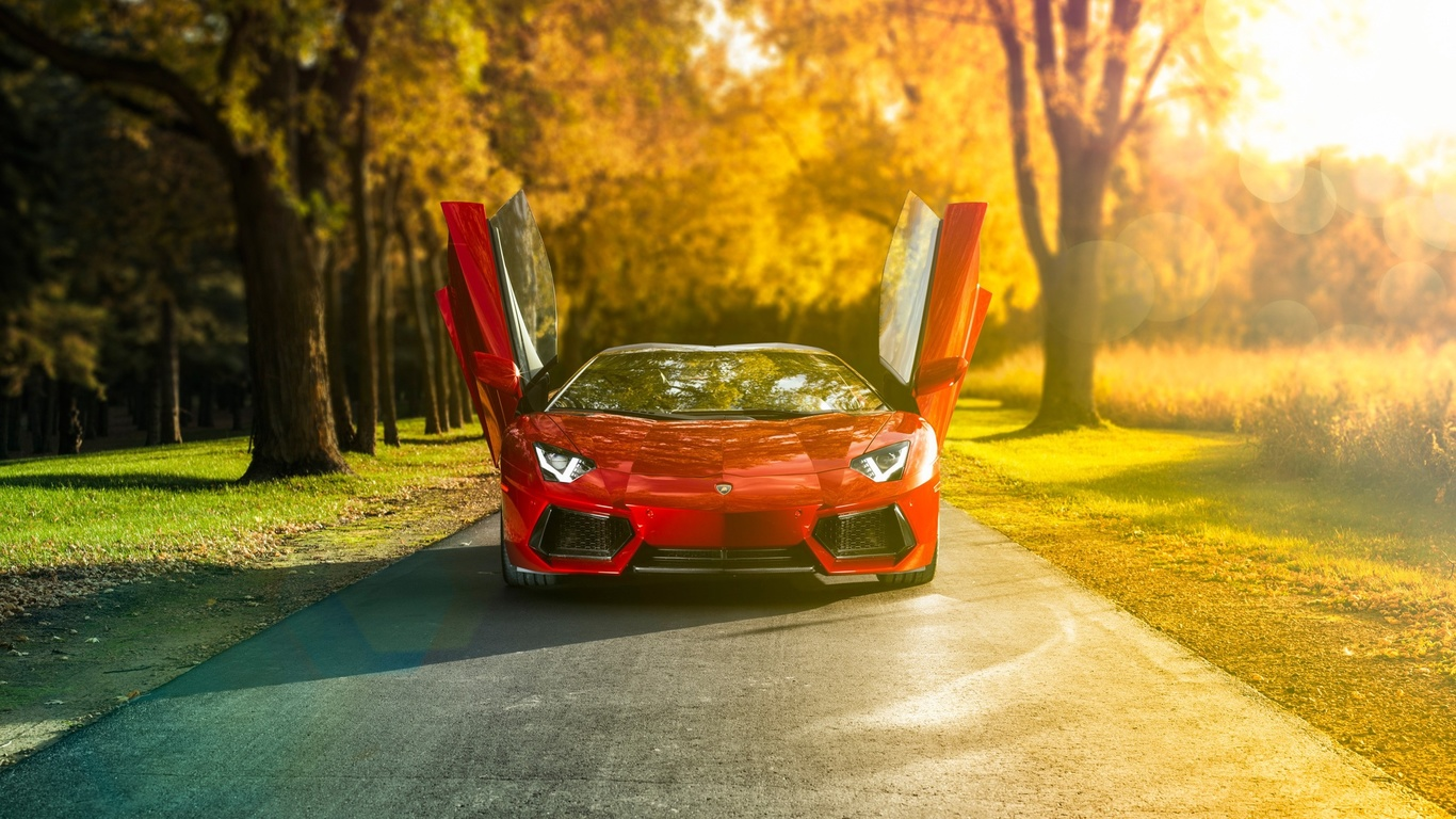 larmborghini aventador, grand sport, super car