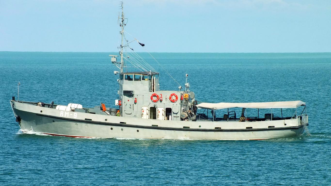 Черное море, водолазный, катер