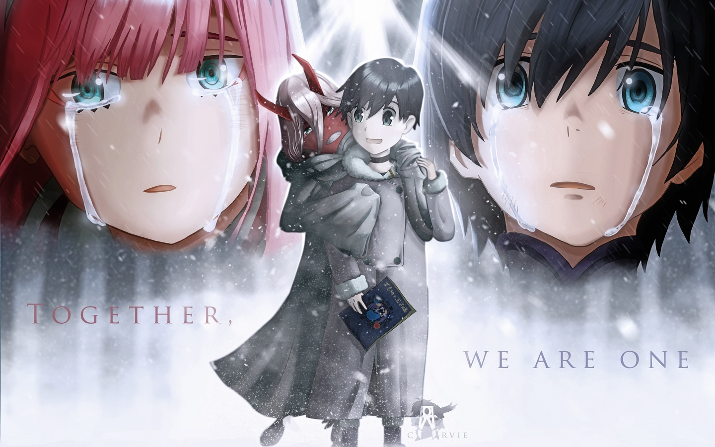 darling in the franxx, милый во франксе