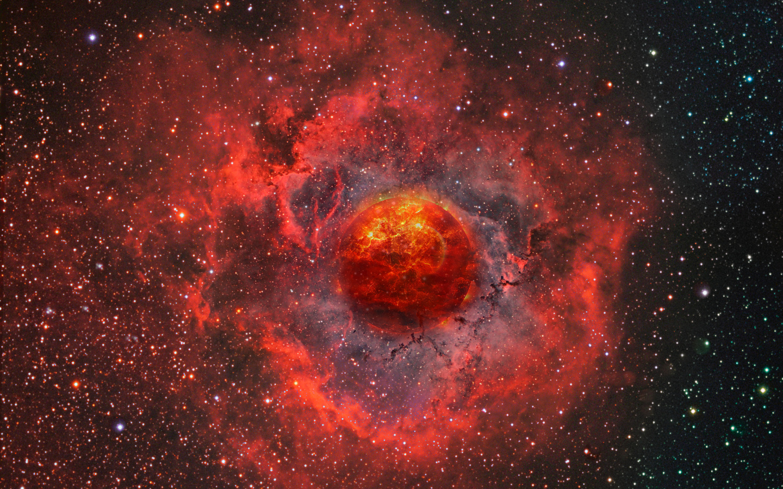 бездна, космос, планета, взрыв