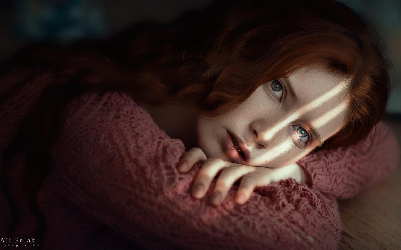 девушка, модель, портрет, ali falak