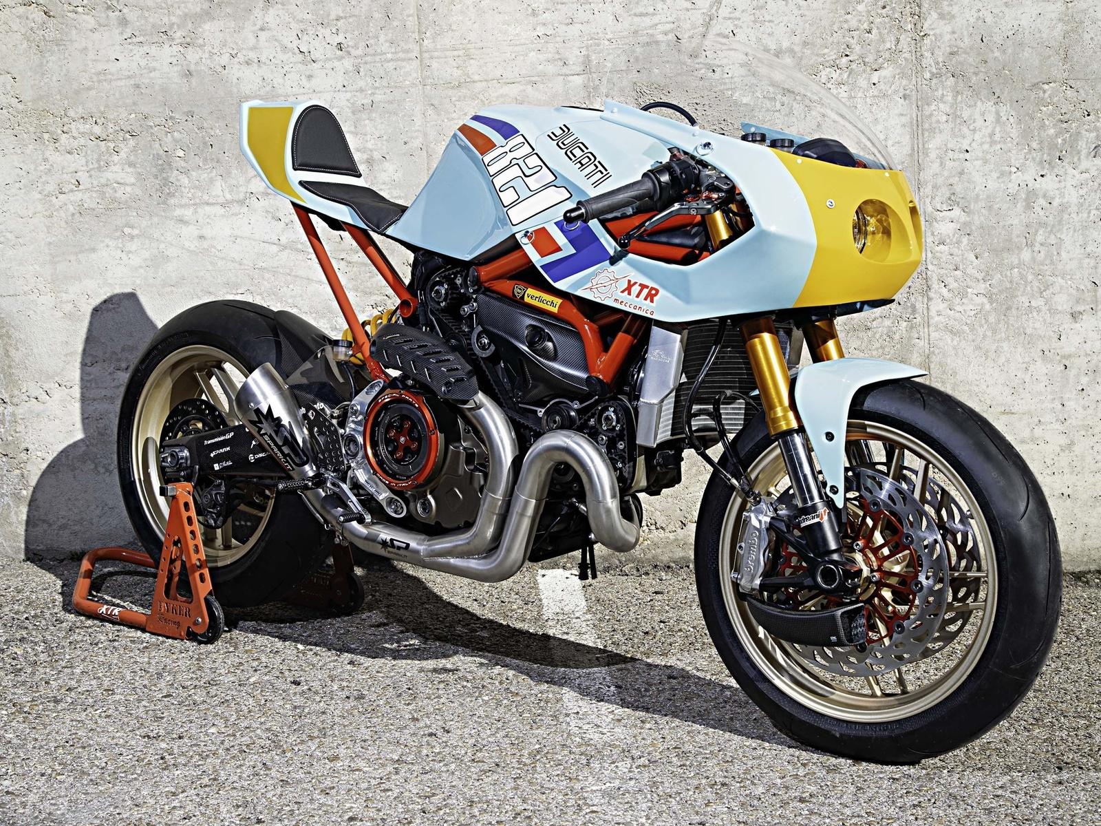 ducati, monster, 821, мотоцикл, байк