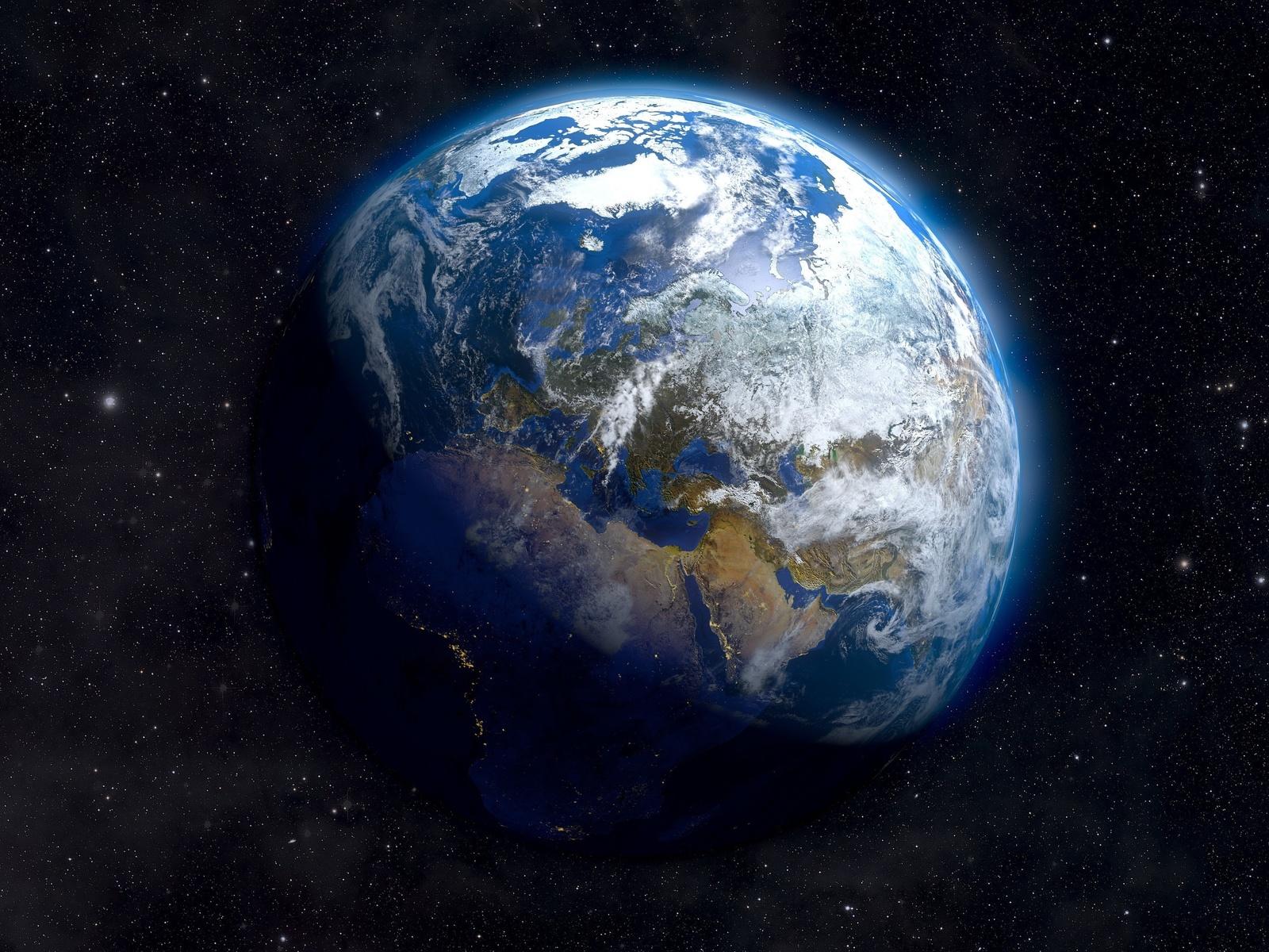 земля, космос, звёзды