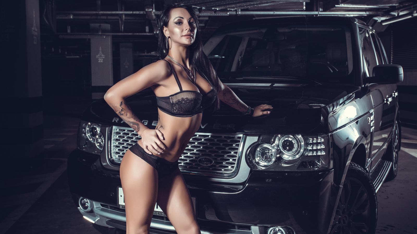 land rover, парковка, модель