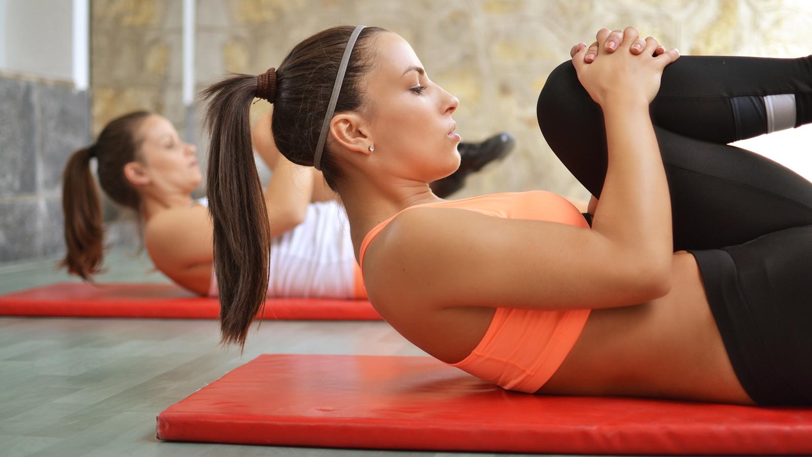 фитнес, девушки, упражнение, спорт, спортзал, fitness, womens, exercise, sport, gymnasium