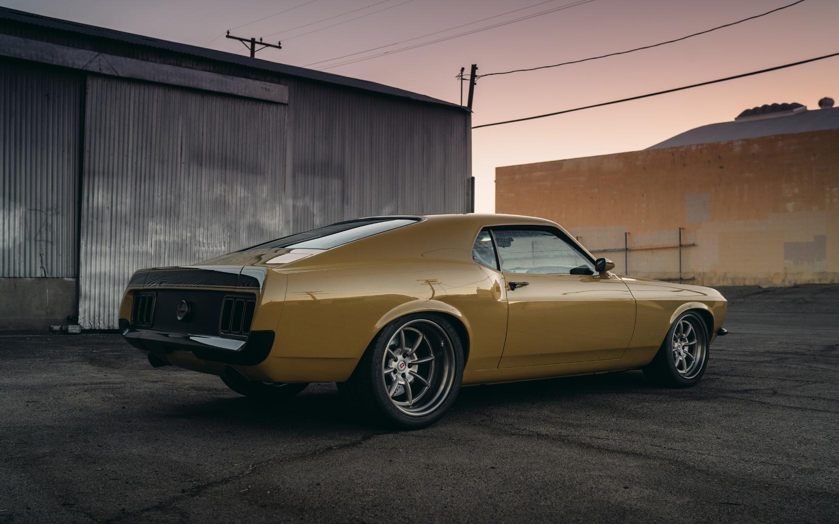 speedkore, rdj, boss, 302, ford, mustang, golden
