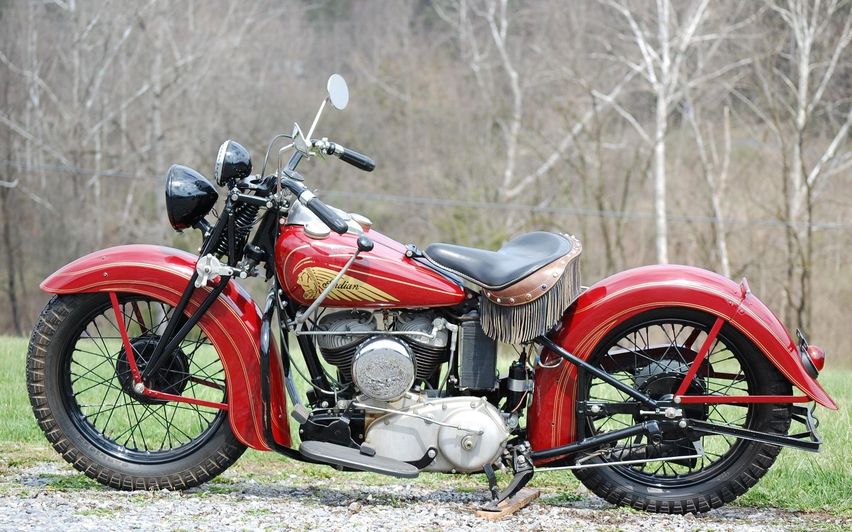 1939, indian, мотоцикл, ретро